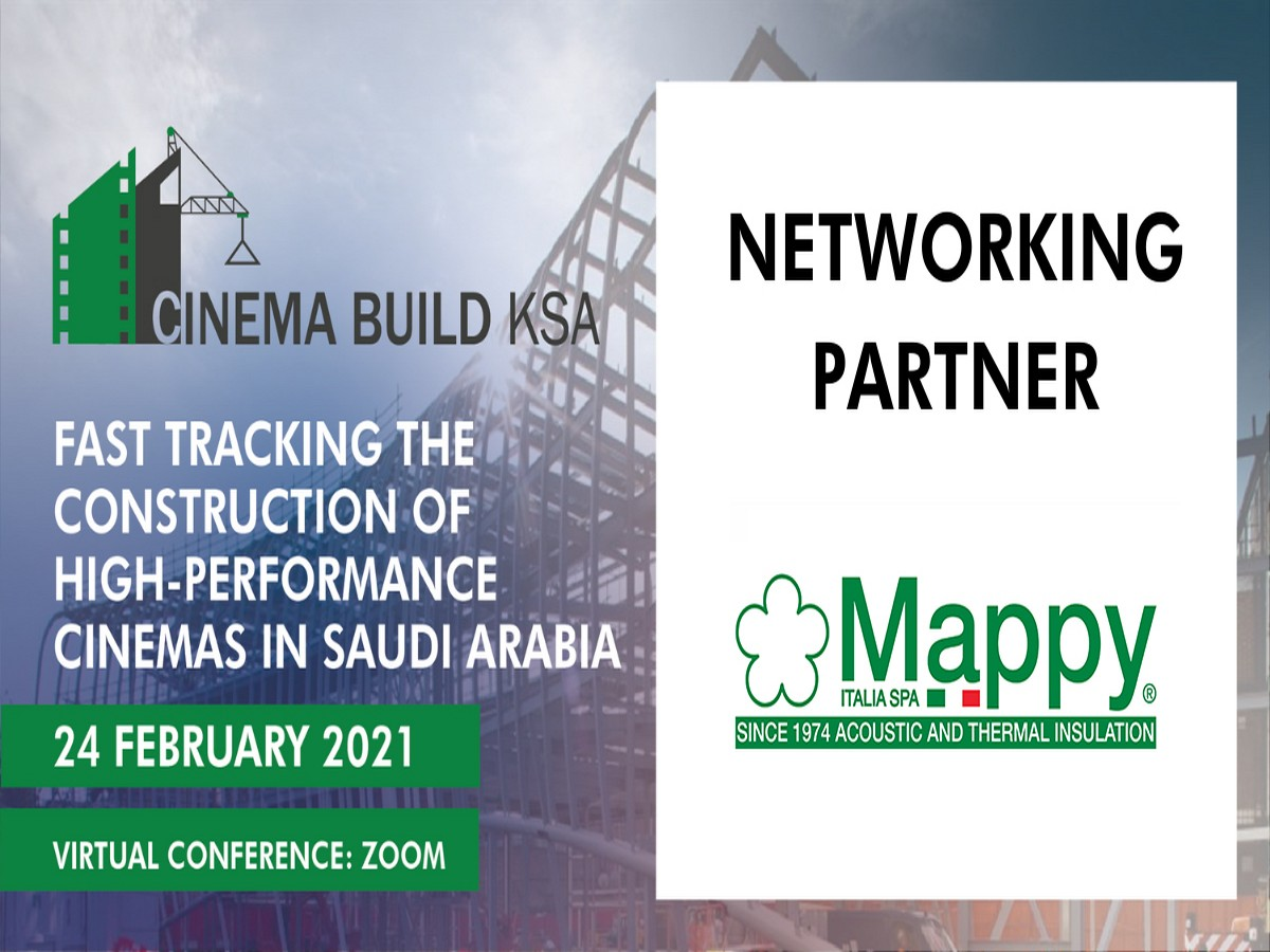 Mappy as Networking partner at Cinema Build KSA